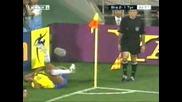 Един от най-забавните моменти във футбола