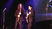 Austin G with Kenny G performing Over the Rainbow at Humphreys San Diego
