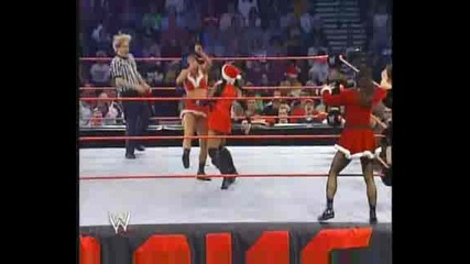 Trish, Stacy & Jacqeline vs. Victoria, Ivory & Molly [23.12.02]