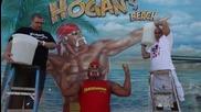 Hulk Hogan бива залят с ледена вода ( Ice Bucket Challenge )