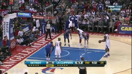 Deandre Jordan Monster-alley Oop Over Brandon Knight (mar 10