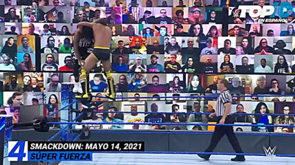 Top 10 Mejores Momentos de SMACKDOWN: WWE Top 10, May 14, 2021