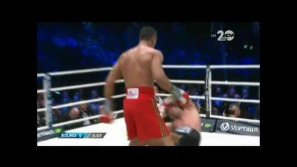 Кубрат Пулев накаутира(н) от Владимир Кличко