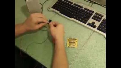 Как да си направим музикални лампички с презерватив