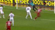 """""""Червената"""" голеада няма край! Бастунов се отчете с втори гол"""