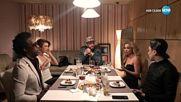 Скандал разтърси вечертята на Люси Иларионов в Черешката на тортата (13.02.2018) - Част 4