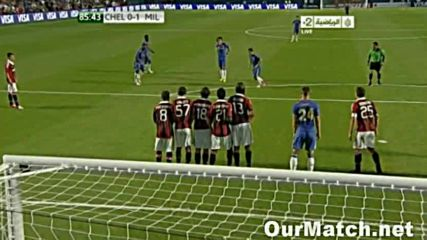 Милан - Челси 1:0
