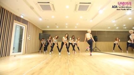 Aoa - 단발머리(short Hair) 안무영상(dance Practice)