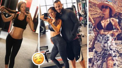 5 месеца, 5 килограма, 5 тренировки... Теа Минкова бременее и хубавее
