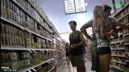 Пич се изпуска в супермаркета