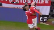 Man United v Man City 2 - 1 Wayne Rooney - Amazing Super Bicycle Goal 12.02.2011