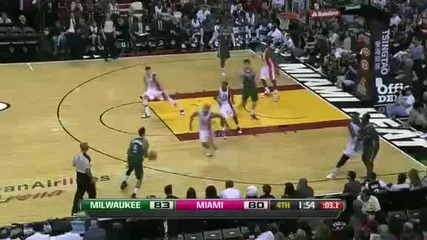 Milwaukee Bucks @ Miami Heat 91 - 82 [22.01.2012]