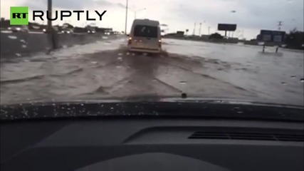 Floods Swamp Oklahoma After Tornado Rips Through Area
