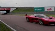 Себастиян Феттел подкара Ferrari Fxx K