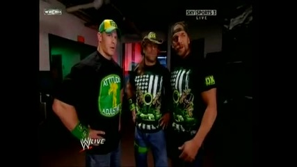Dx John Cena and Horswoggle funny moments.1