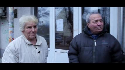 Христо Янев с празничен пакет за Елена и Първан - Holiday Heroes