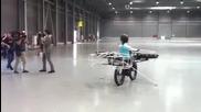 Летящ велосипед