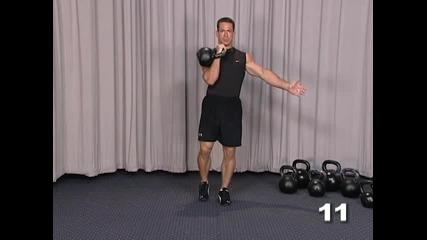06 - Leg Training - 11 - Racked Lunge