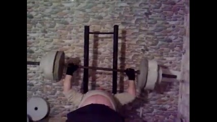 Tupan se zatiska sus 100kg