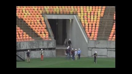 В Бразилия още не са готови със стадионите за световното
