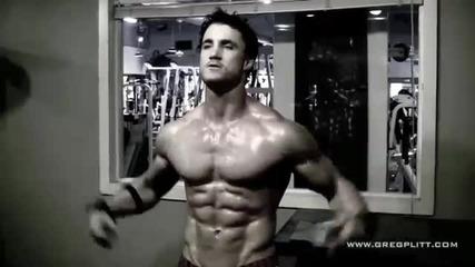 Mотивация! Greg Plitt Workout