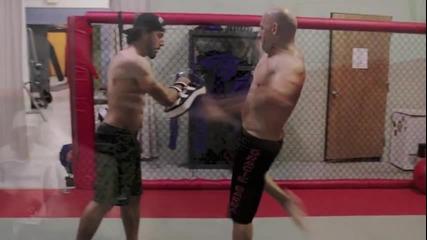 Vin Diesel тренира бойни изкуства