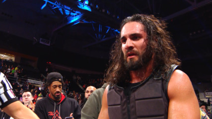 Seth Rollins exits to arena following Ambrose assault: WWE.com Exclusive, Oct. 22, 2018