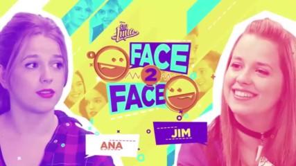 Soy Luna 3 - Лице в лице - Ана и Джим + Превод