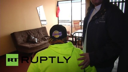 Chile: Survivor of 17-storey fall returns to scene of accident
