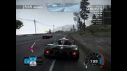 Need for speed Hot Pursuit Pagani Zonda Cinque Police