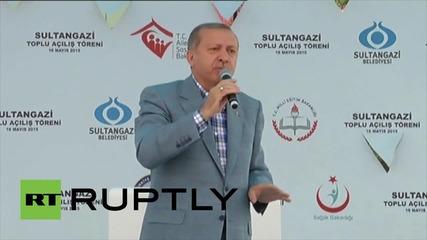 Ердоган осъди смъртната присъда за Морси и западното парадиране