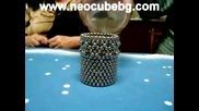 Магнити взаимодействат с вода - Неокуб (neocube)