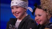 Деца правят страхотно денс шоу! Elin & Noah- America's Got Talent 2015