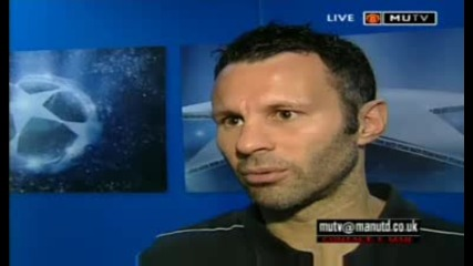 Ryan Giggs Interview - 15.04.09