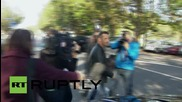 New Zealand: AC/DC drummer Phil Rudd leaves court after re-arrest