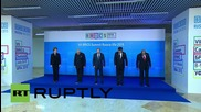 Russia: BRICS leaders pose for joint photo in Ufa