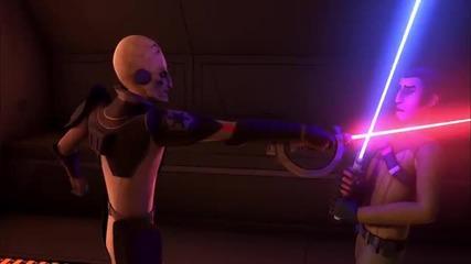 "Star Wars Rebels ""kanan vs. The Inquisitor"""