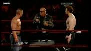 Джон Сина и Шeймъс подписват договор за предстоящия им мач на турнира Tlc *2/2*