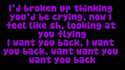 Cher Lloyd ft. Astro - Want U Back (lyrics)