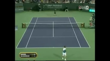 Ms Indian Wells 2009 Налбандиан vs Надал