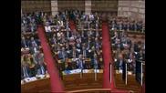 Гръцкият парламент гласува бюджета на страната за 2013 г.