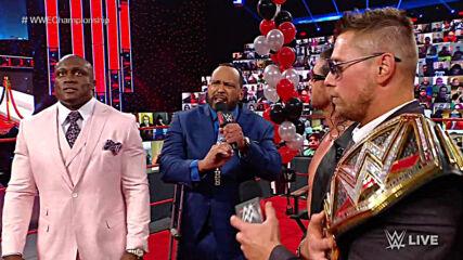"""Bobby Lashley gives The Miz an ultimatum on """"Miz TV"""": Raw, Feb. 22, 2021"""