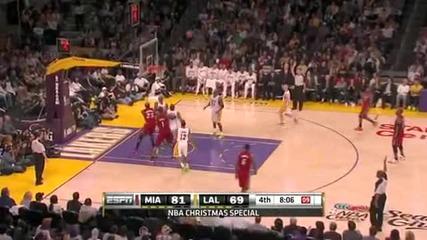 Heat @ Lakers 25.12.10