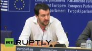 Belgium: Lega Nord's Salvini welcomes formation of pan-European right-wing bloc