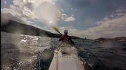 Българин преплaва 900км. с каяк по пътя на Одисей