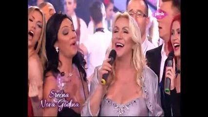 Vesna Zmijanac - Ne kunite crne oci - Pinkovo narodno veselje - (TV PINK 31.12.2014.)