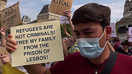 France: 'Refugees are not criminals' - Paris pro-migrant demo demands EU reforms