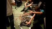 Видео на съвместна репетиция за песента Дино и Иракли - Направи стъпка