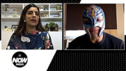 Stepping into the Ring against The Great Khali, a Terrifying Moment of Rey Mysterio's Career | Exclusive Interview: WWE Now Indi