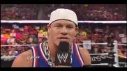 Wwe Raw - John Cena Word Life Return 12.03.2012